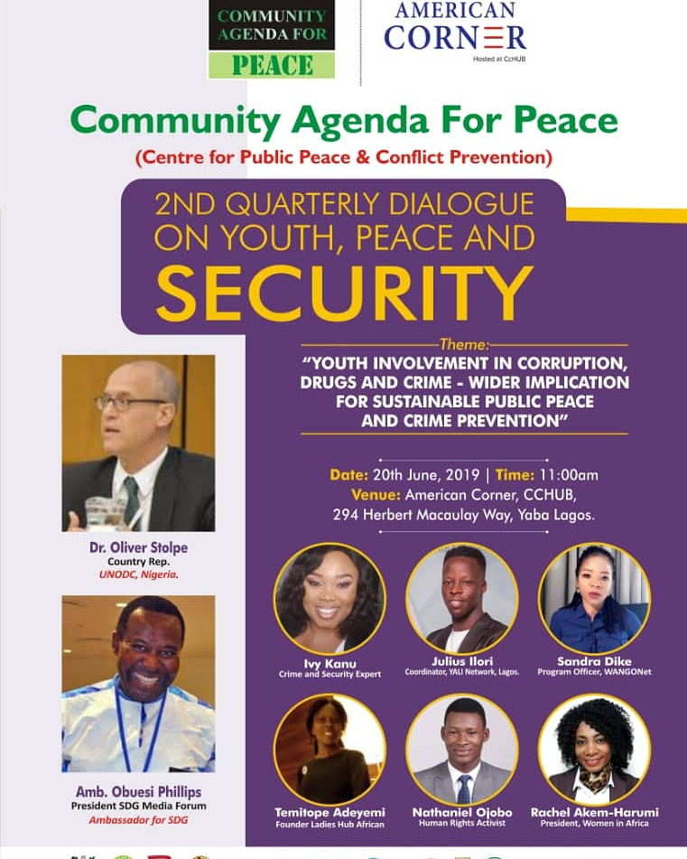 Community agenda for peace Poster