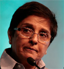Interview with Kiran Bedi, about corruption in India