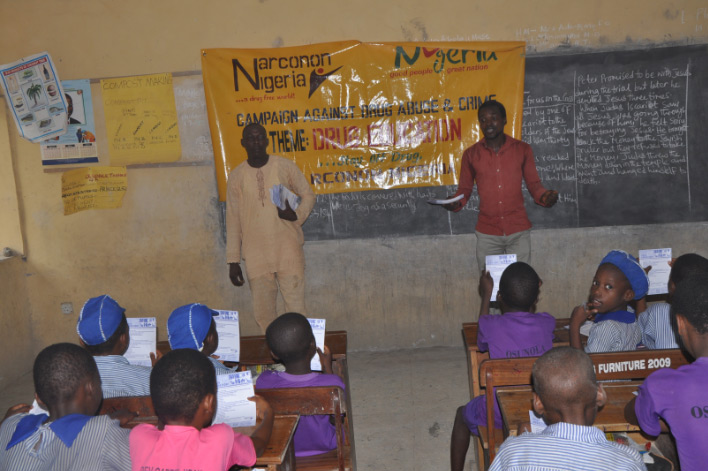 Narconon Nigeria drug lecture on July 9, 2013