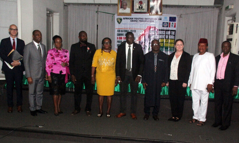 The 5th National Youth Summit on Drugs and Substance Prevention organized by African Youths Initiative on Crime Prevention