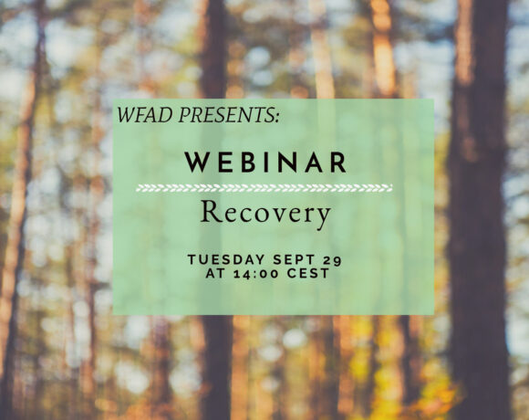 Invitation to Webinar: Recovery