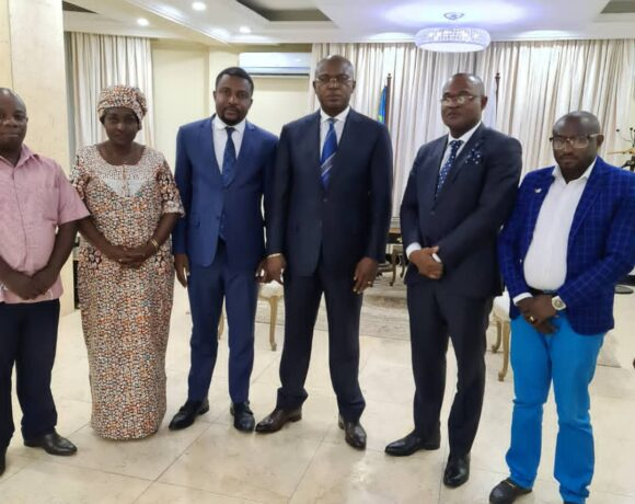 DRC office meets Governor of the City of Kinshasa