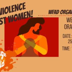 Invitation to our Webinar: Orange Day!