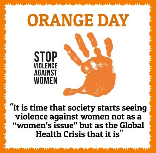 Orange Day – Say STOP to Violence against Women