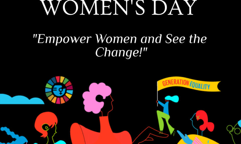 Statement International Women's Day – Empower Women and See the Change