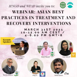 Summary: Webinar on Asian Best-Practices in Treatment and Recovery Interventions