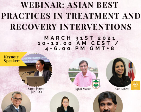 Reminder: Invitation to the Webinar on Asian Best Practices in Treatment and Recovery Interventions