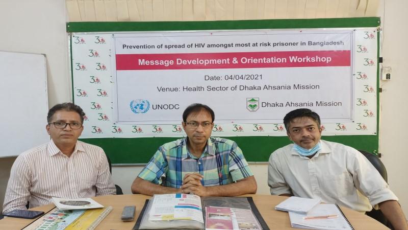 DAM –  Initiative to prevent HIV infection in prisons