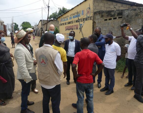 A delegation from the Swedish Embassy in the DRC realizes the progress made by the 'Sober Youth-Healthier Communities' project