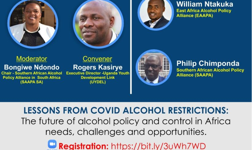 Africa Alcohol Policy Webinar Series – Part 1