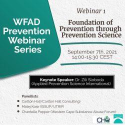 Summary Prevention webinar Series I – Foundation of Prevention through Prevention Science